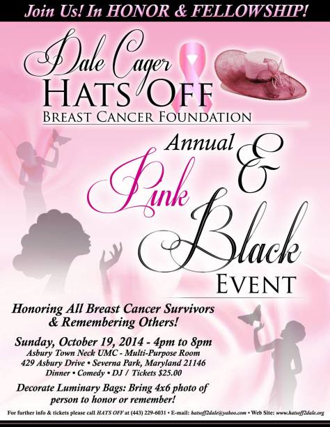 Pink & Black Event 2014